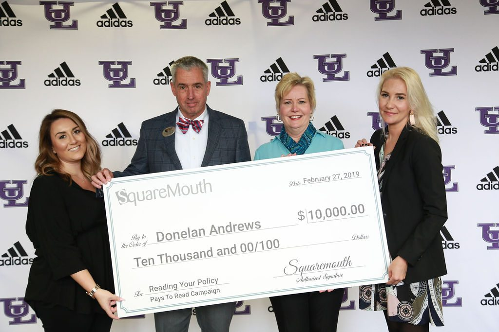 Pays to Read large check